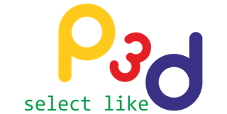 Poza logo P3D select like - p3d